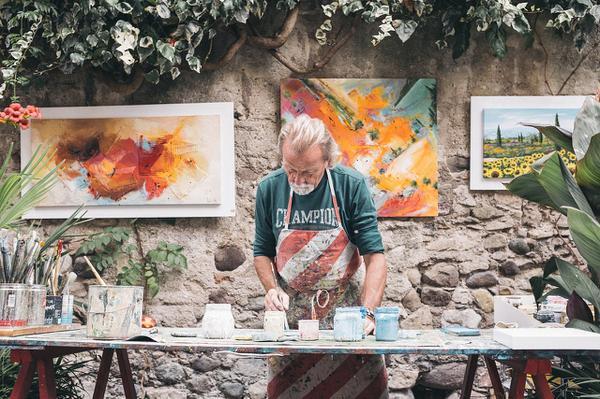obrazy ręcznie malowane cena
